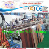 PE PVC 목제 플라스틱 검술 생산 라인
