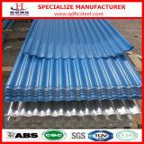 Colorer la feuille en acier de toit ridée par G3322 de JIS
