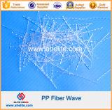 La fabbrica direttamente fornisce tipo pp che onda/curva la fibra per calcestruzzo rinforza