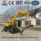 China-neues kleines Rad-Exkavator-Zupacken-ansteckende Zuckerrohr-Maschine für Verkauf