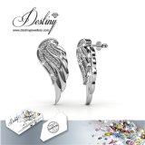 De Kristallen van de Juwelen van het lot van de Oorringen van de Vleugels van de Engel Swarovski