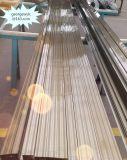 Perfis de alumínio de lustro para o indicador e a porta/perfis de alumínio da extrusão