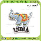 Kundenspezifische Kühlraum-Magnet-Andenken-Markierungsfahne Indien (RC-IA) der Förderung-Geschenk-3D