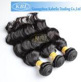 Nenhum volume boémio Tangling Dubai do cabelo humano de 100 cutículas em linha