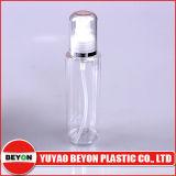 Plastikhaustier-Flasche des transparenten Zylinder-120ml mit Lotion-Pumpe (ZY01-B065)