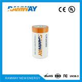 Bateria de lítio Cr26500 para telefone móvel sem fio bilateral da Dinamarca Sp3300