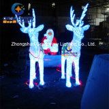 LED Crystal Reindeer Sleigh para Christmas Decoration (BW-SC-248)