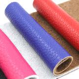 Cuir synthétique d'imitation d'éponge de PVC d'unité centrale gravé en relief par Faux artificiel pour le constructeur automatique d'usine de couvertures de portée de véhicule de meubles de sofa