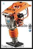 熱い販売法ガソリンホンダGx100エンジンGyt-70hを搭載する振動の充填のランマー