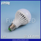 セリウムRoHS Approved 9With7With5With3W Aluminium Plastic E27 B22 LED Bulb Light