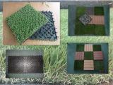 人工的な草の泡の床タイルをかみ合わせる遊ぶことをからかう