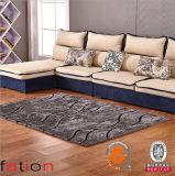 100%年のポリエステル現代シャギーなカーペットの高品質の建坪の敷物