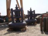 Машина сверхмощного песка нагнетая для земснаряда всасывания резца для драгировать золота