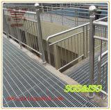 Baustahl, der Antigleiter-Stahl-Vergitterung zerreibt