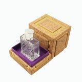متأخّر عربيّ أسلوب مربّع [بو] جلد عطر يعبّئ صندوق