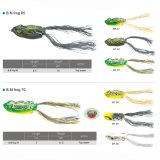 Прикорм рыболовства лягушки тела силикона крюка дешево Vmc