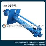 Pompe centrifuge verticale de boue de haute performance/pompe submergée