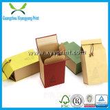 Kundenspezifischer leerer Tee-Packpapier-Kasten