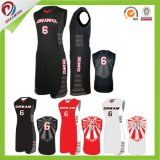 Dreamfox Customized Basketball Uniform Dry Fit Sublimation Printing Basketball Jersey
