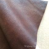 Tessuto domestico di cuoio decorativo della pelle scamosciata della tessile con la protezione del panno morbido