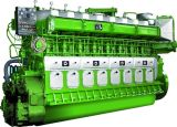 motor diesel marina inferior de la consumición de combustible de 500kw 4-Stroke