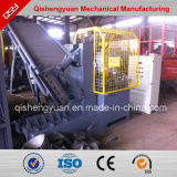 La basura cansa la máquina y el alambre del trefilado que quitan la maquinaria para los neumáticos del desecho