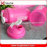 400ml混合機のシェーカーの水差しカスタム蛋白質のシェーカーのびんは遊ばすびんのシェーカーのコップの体操のシェーカーの適性のびんのBAPのミキサー(KL-7011)が付いている自由な水差しを