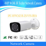 De OpenluchtCamera van het Netwerk van de Kogel van Dahua 4MP WDR IRL (ipc-hfw2421r-zs-IRE6)