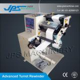 Máquina auto de la cortadora del papel de la etiqueta engomada de Rewinder de la torreta de Jps-320fq-Tr