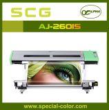Impressora de cor da tinta Dx5 de Eco-Solenóide do alfa com cabeça de impressão dobro
