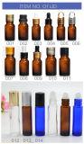 Bottiglia di vetro libera/ambrata/blu/di verde olio essenziale/bottiglia cosmetica/bottiglia di profumo