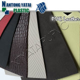 Tela de couro de imitação do PVC da alta qualidade 2016 para a bagagem