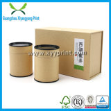 Aangepaste Chinese Theezakjes papier Pakcaing Storage Box