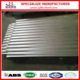 Tôle d'acier galvanisée ridée par métal de toiture de Gi de SGCC JIS G3302