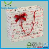 Bolsa de papel de encargo del regalo de la impresión de la bolsa de papel del lápiz del regalo