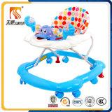 Caminhante plástico do bebê da atividade da venda por atacado da fábrica do carro do brinquedo das crianças com música