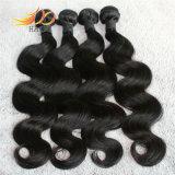 Estensione indiana dei capelli umani del Virgin di alta qualità dell'onda 8A del corpo