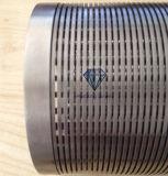 Mini filtro do envoltório do fio da cunha de Johnson do entalhe para o projeto subterrâneo do tratamento da água de Intake& da água