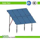 Bodensolarmontage-System, C-Steel/Sonnenkollektor-Halter PV-Einbaustruktur photo-voltaisches Stents