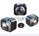 Macchina fotografica videocamera 360 di memoria di sistema da 1 GB mini in linea