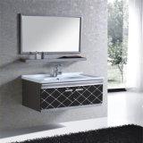 Шкаф ванной комнаты нержавеющей стали просто конструкции с зеркалом