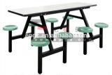 Tabela e cadeira de jantar do Fastfood para a cantina da escola