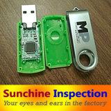 Control de calidad micro del servicio del examen del cargador de la pared del USB