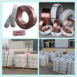공장은 용접 온화한 강철, 낮은 합금 강철을%s 용접 전선을 보았다