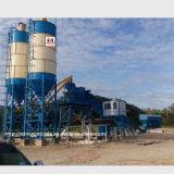 planta de tratamento por lotes concreta do controle do PLC de 90m3/H Siemens/planta de mistura concreta
