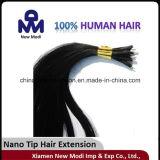 Nano先端の毛の拡張、ブラジルのバージンの人間の毛髪の毛の拡張
