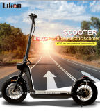 48V、500W Brushless Motor、長不変の55km、Certificates.のFoldable Aluminum Alloy Electric Mobility Scooterの14inches Electric Scooter