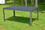 Mobilia esterna di legno di plastica della sosta della mobilia