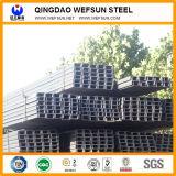 Faisceau en acier de profilé en u de construction de GB de longueur normale du matériau 6m