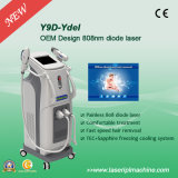 Máquina fria da remoção do cabelo do diodo láser de Y9d sem dor
